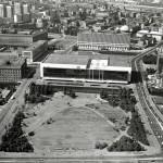 Palast der Republik und Ministerium für Auswärtige Angelegenheiten © Landesarchiv Berlin/D. Breitenborn 1977